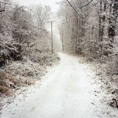 Walking in a winter wonderland, along the rail trail in #RosendaleNY