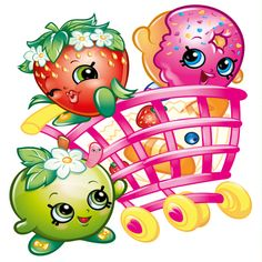 Shopkins Wall Stickers - Totally Movable - Jazz up a room in seconds Fete Shopkins, Shopkins Bday, Shopkins Art, Shopkins Girls, 7th Birthday, Birthday Parties, Birthday Cake, Shopkins Characters, Shopkins And Shoppies