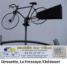Musée du vélo dans la Sarthe