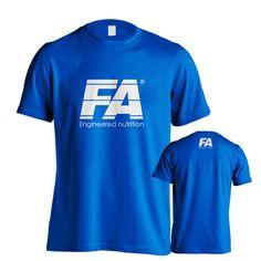FA T-shirt Blue Mens Tops, T Shirt, Blue, Fashion, Supreme T Shirt, Moda, Tee Shirt, Fashion Styles, Fashion Illustrations