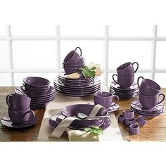 Purple Dishes