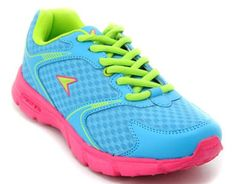 Baby Blue Power Athletics Shoes for Boys