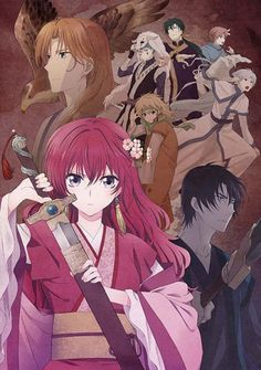 Yona of the Dawn - Character designs