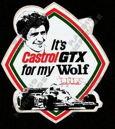 Motorsport Autographs For Sale Jody Scheckter, Decal, Sticker, Motor Sport, Shop Signs, Ferrari, 1970s, African, Racing