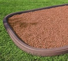 Surround your Outdoor Jungle Gym with a rubber border that contours to fit your play area. Visit Eastern Jungle Gym for Playset Accessories like rubber mulch. Backyard Playset, Backyard Playground, Backyard For Kids, Backyard Ideas, Playground Ideas, Plastic Playground, Patio Ideas, Playground Safety, Preschool Playground