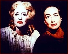 """Whatever Happened to Baby Jane?"" A scary favorite that my sister Kathy made us watch as children!"