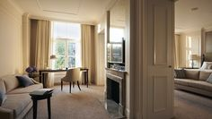 Waldorf Astoria Amsterdam Hotel, Netherlands - One Bedroom Suite livingroom