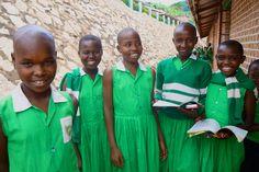 Girls at Kutamba School Nyaka AIDS Orphans Project Education and Girl Empowerment Programs Empowerment Program, Girl Empowerment, Orphan, Uganda, Education, School, Children, Girls, Projects