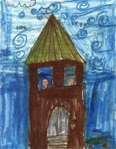 Drawing created by Giovanna of Edmunds Elementary School (Age 7). Our House – Ronald McDonald House Charities | Burlington Vermont | Ronald McDonald House - Burlington, Vermont
