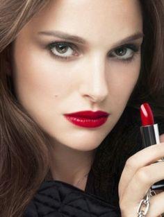 Natalie Portman voor Dior Rouge