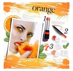 """Fall Beauty: Orange Crush"" by meyli-meyli ❤ liked on Polyvore featuring beauty, Consigli, Herbivore and orangecrush"