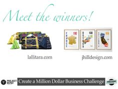 Meet the Winners of the Create a Million Dollar Business Challenge