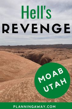 Have you heard of Hell's Revenge in Moab, Utah? It is an off-roading adventure of a lifetime! People from all over bring jeeps, UTV, and other Sports Utility Vehicles to have a little fun on one of the most thrilling trails in Utah. We recently decided to try this trail out. I had no idea what I was getting into. It was crazy, scary, and thrilling all at the same time. Moab Utah, Off Road Adventure, Winter Travel, Revenge, Great Places, Offroad, Scary, Trail, National Parks