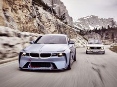 La sorpresa del fin de semana ha sido, sin duda alguna, el imponente BMW 2002 Hommage. En BMW siguen fieles a su tradición, la de crear reinterpretaciones modernas de sus mejores coches, de los clás