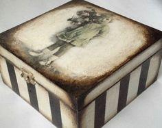 Handmade tea box - Edit Listing - Etsy