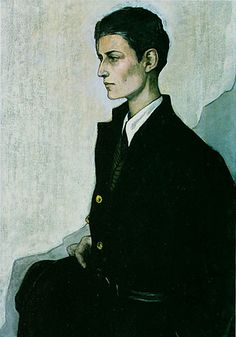 Romaine Brooks Peter, a Young English Girl, 1923
