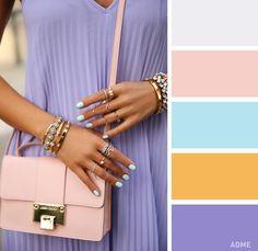 15 нежных цветовых сочетаний в одежде для этой весны
