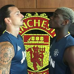 Ibrahimovic and Pogba - Manchester United