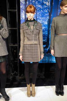 Charlotte Ronson - Plaid Runway Fashion Week Fall 2013 - Fall 2013 Fashion Trends - ELLE