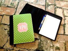 Monogram Notepad Folios