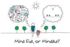Mind Full, or Mindful? #mindfulness #meditation