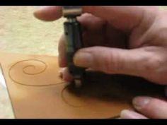 Swivel Knife Usage ~ Leathercraft Tutorial ~ Basics of Leatherwork