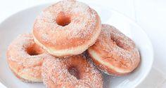 donuts met kaneelsuiker Donuts, High Tea, Beignets, Doughnut, Food Inspiration, Cookie Recipes, Tart, Bakery, Food And Drink