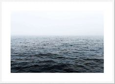 Ocean Breeze II Framed Print [Size: XLarge 930x1280mm] [Frame Colour: White]