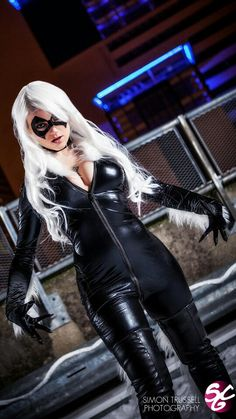 Character: Black Cat (Felicia Hardy) / From: MARVEL Comics 'The Amazing Spider-Man' / Cosplayer: Unknown