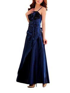 VIP Dress Abendkleid in Blau, Größe 32