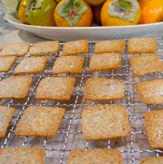 Gruyere & Hazelnut Crackers. Made these last year. They were gone in minutes.