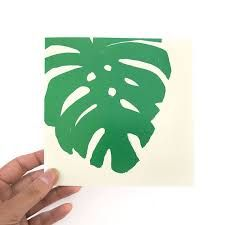 Image result for delicious monster plant leaf stencil