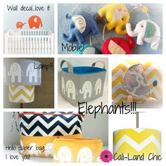 Elephant Theme Baby Room!