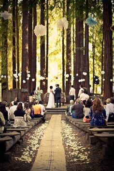 forest weddings | forest wedding by AutumnAlexander