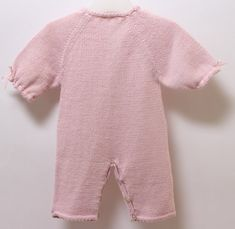 Baby jumpsuit / Knitting Pattern Instructions by LittleFrenchKnits