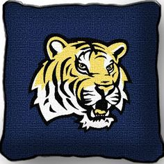 LSU Tiger Pillow