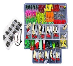 Fishing Lure 629Pcs 1 Set Minnow Popper Wobbler Spoon Steel Lures Delicate Bait Fishing Lure Package Laborious Delicate Bait And Different Saltwater Freshwater Lures for Fishing With Deal with Field  Function: Materials: Plastic/Steel. Shade: Assorted. Place: Lake, pool, river, sea, pond....