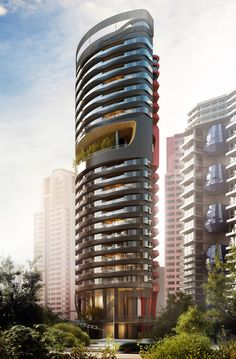 ferra luxury residential condo in singapore by pininfarina