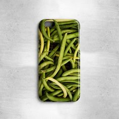 Great gifts for foodies! This green beans case is available for iPhone 6S and older (3G, 3GS, 4, 4S, 5, 5S, 5C, 6) or Samsung Galaxy S6, S5,