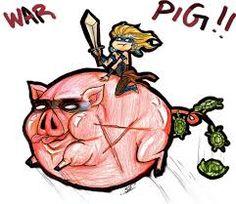 Resultado de imagem para war pig illustration