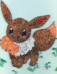#Eevee - Art Quilling Project