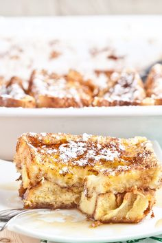 Best French Toast Casserole Recipe - Chew Out Loud - breakfast casserole breakfast bake texas french toast casserole french toast bake La mejor imagen so - Baked French Toast Casserole, Overnight Breakfast Casserole, Breakfast Bake, Breakfast Recipes, Breakfast Enchiladas, Health Breakfast, Breakfast Ideas, Best French Toast, Overnight French Toast