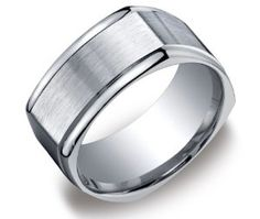 10k White Gold 6mm Comfort Fit Round Edge Men's Wedding Band with High Polish | Blog | wedding bands - Yahoo! Blog