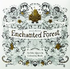 Johanna Basford's Enchanted Forest Adult Colouring Book
