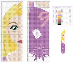 Rapunzel Tangled - Disney pattern                              …