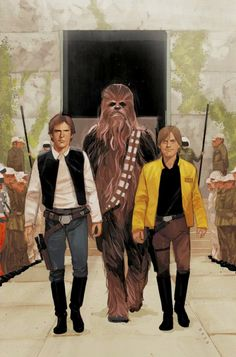 Anniversary variant cover art by Phil Noto for 'Star Wars: Doctor Aphra' issue published December 2017 by Marvel Comics Star Wars Icons, Star Wars Art, Geeks, Saga, Phil Noto, Han Solo And Chewbacca, Star Wars Episode Iv, Star Wars Luke Skywalker, Pop Culture Art