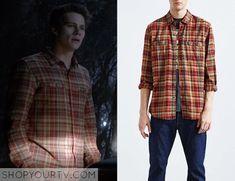 Teen Wolf: Season 5 episode 1 Stiles' orange plaid shirt