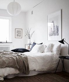 White Bedroom Design Ideas and Decorations. Home Lover's - Home Decor Ideas Fo. : White Bedroom Design Ideas and Decorations. Home Lover's - Home Decor Ideas Fo. White Bedroom Design, White Bedroom Set, Master Bedroom, Linen Bedroom, Warm Bedroom, Bedroom Simple, Bedroom Black, Home Decor Bedroom, Bedroom Furniture