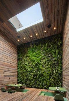 Wood & green