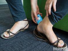 1. Prevent blisters:
